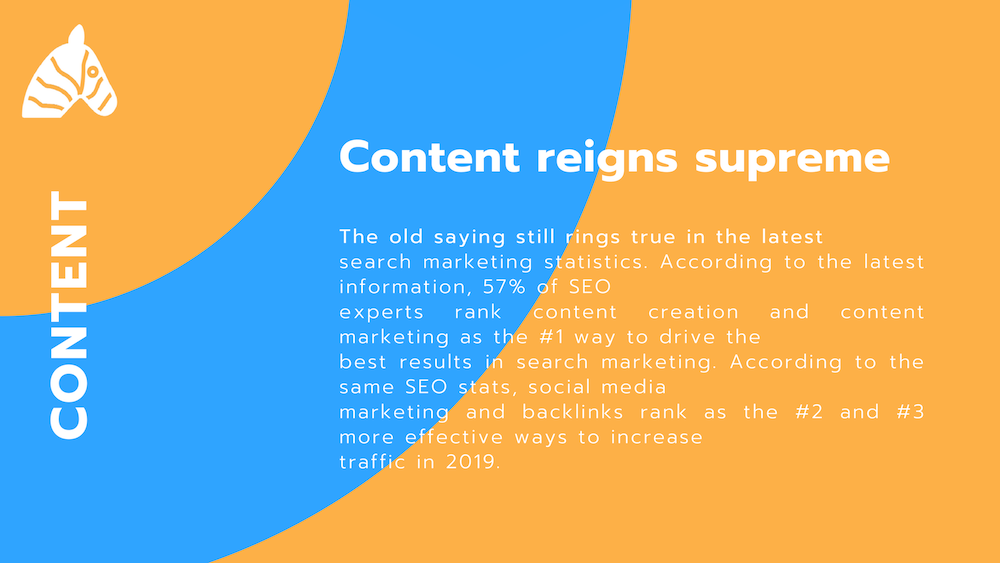 content is the most important seo ranking factor