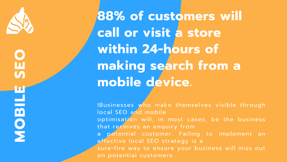 local seo statistic 2019 - 88% of users call the store before visiting