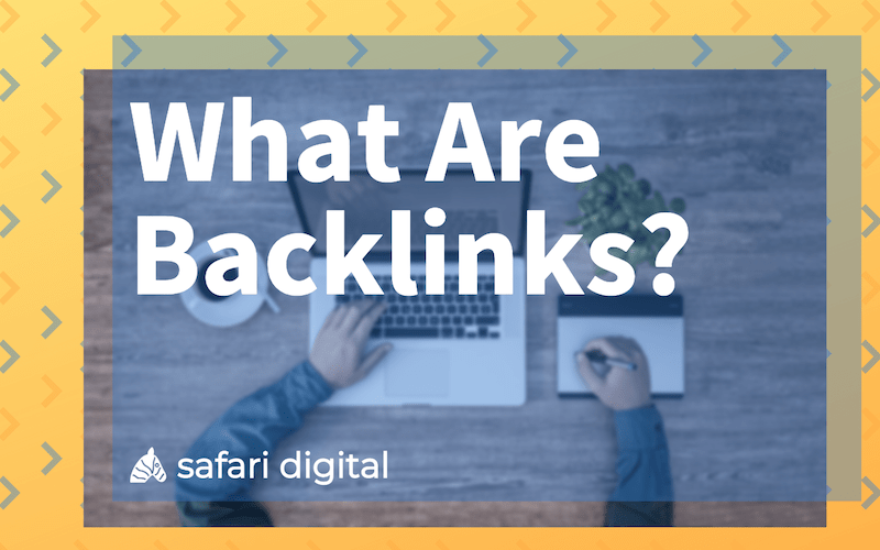 What are backlinks banner image small