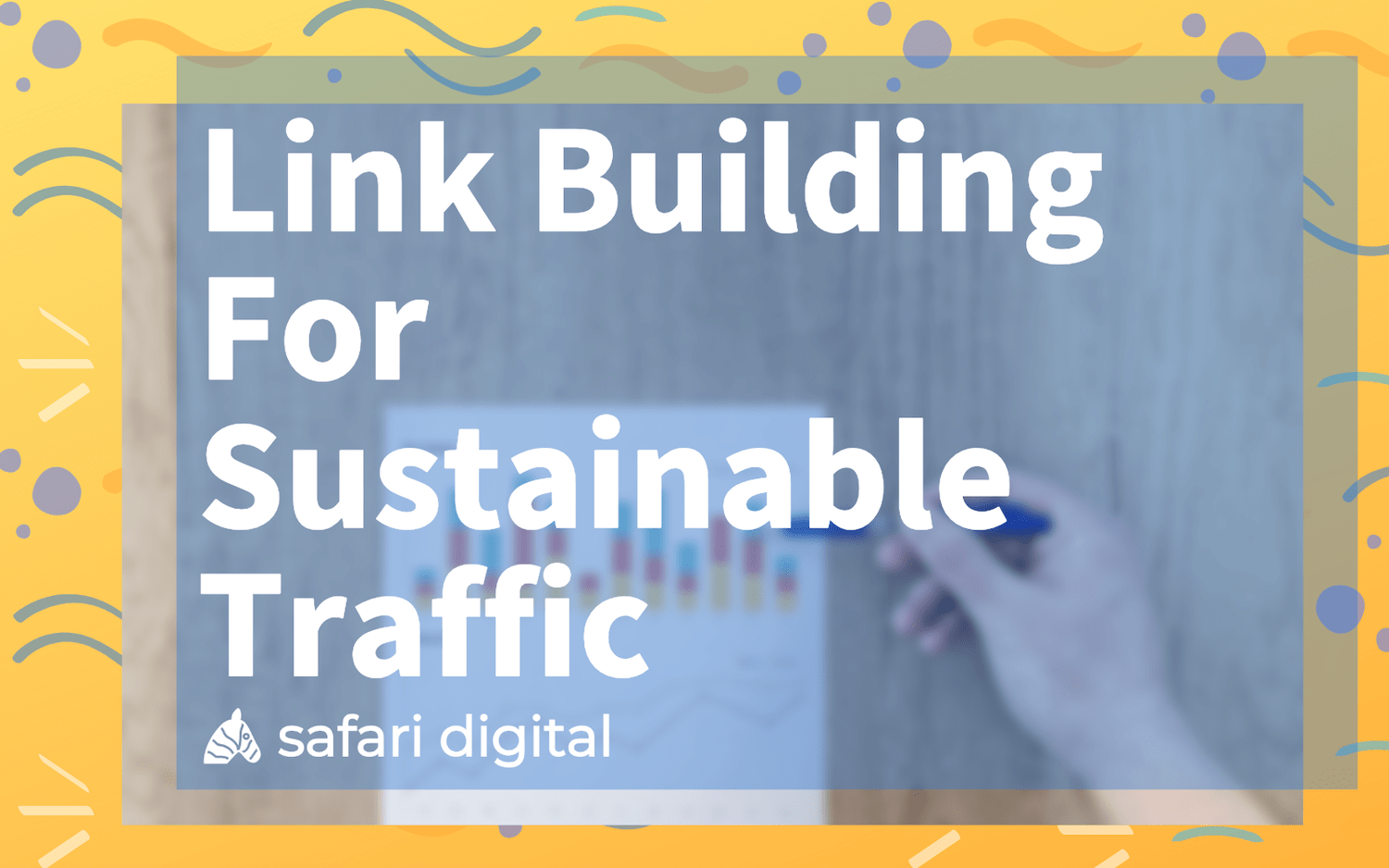 Link Building for Sustainable traffic banner image large