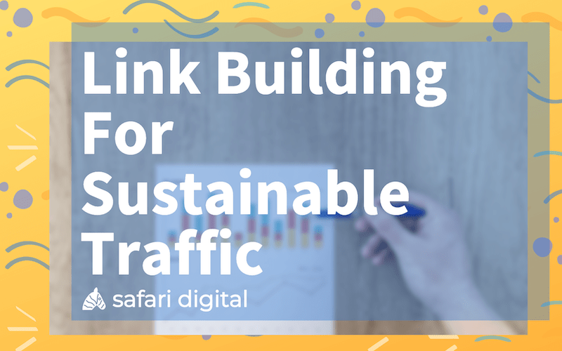 Link Building for Sustainable traffic banner image small