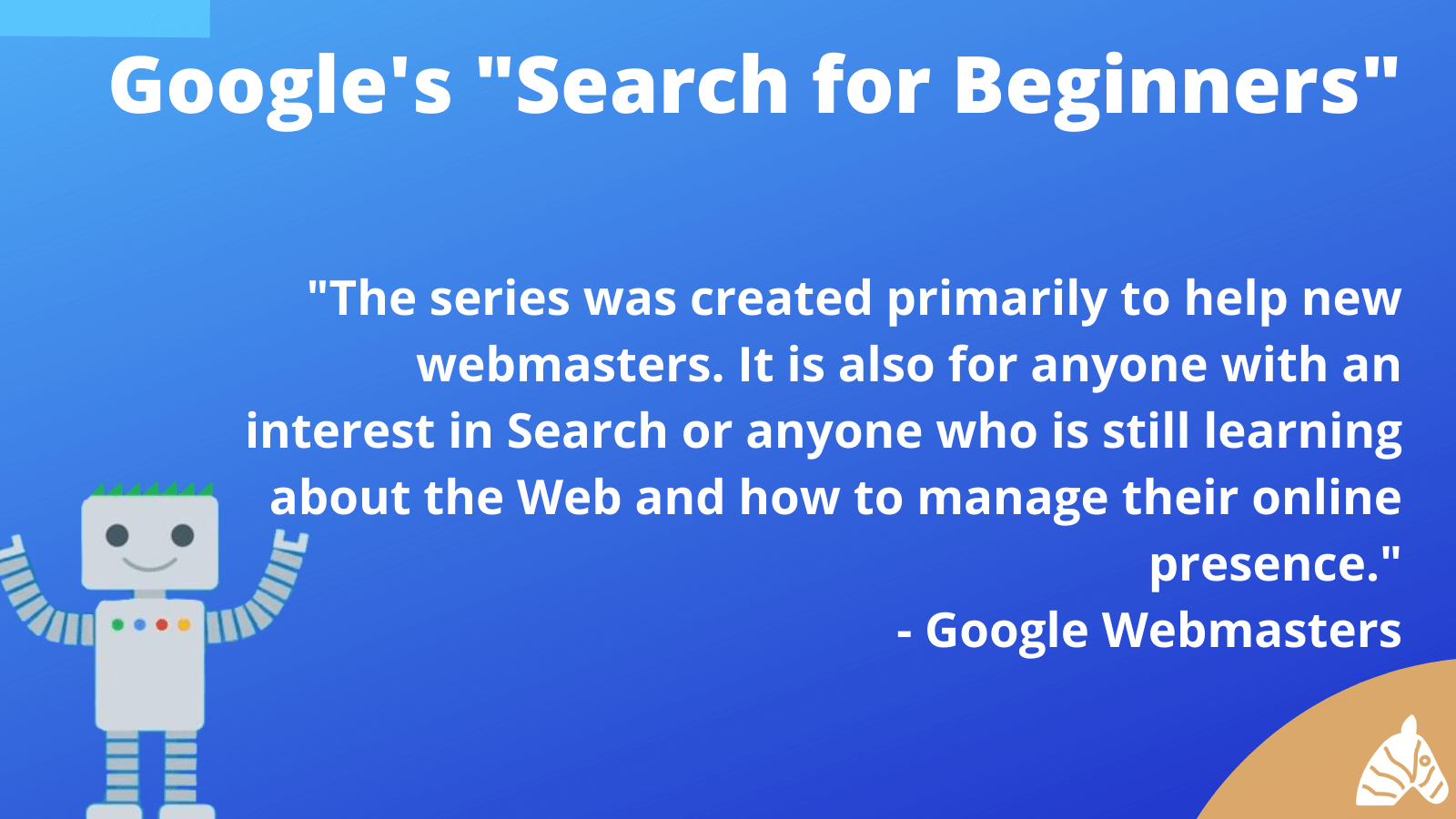 search for beginners tip from Google webmaster tools
