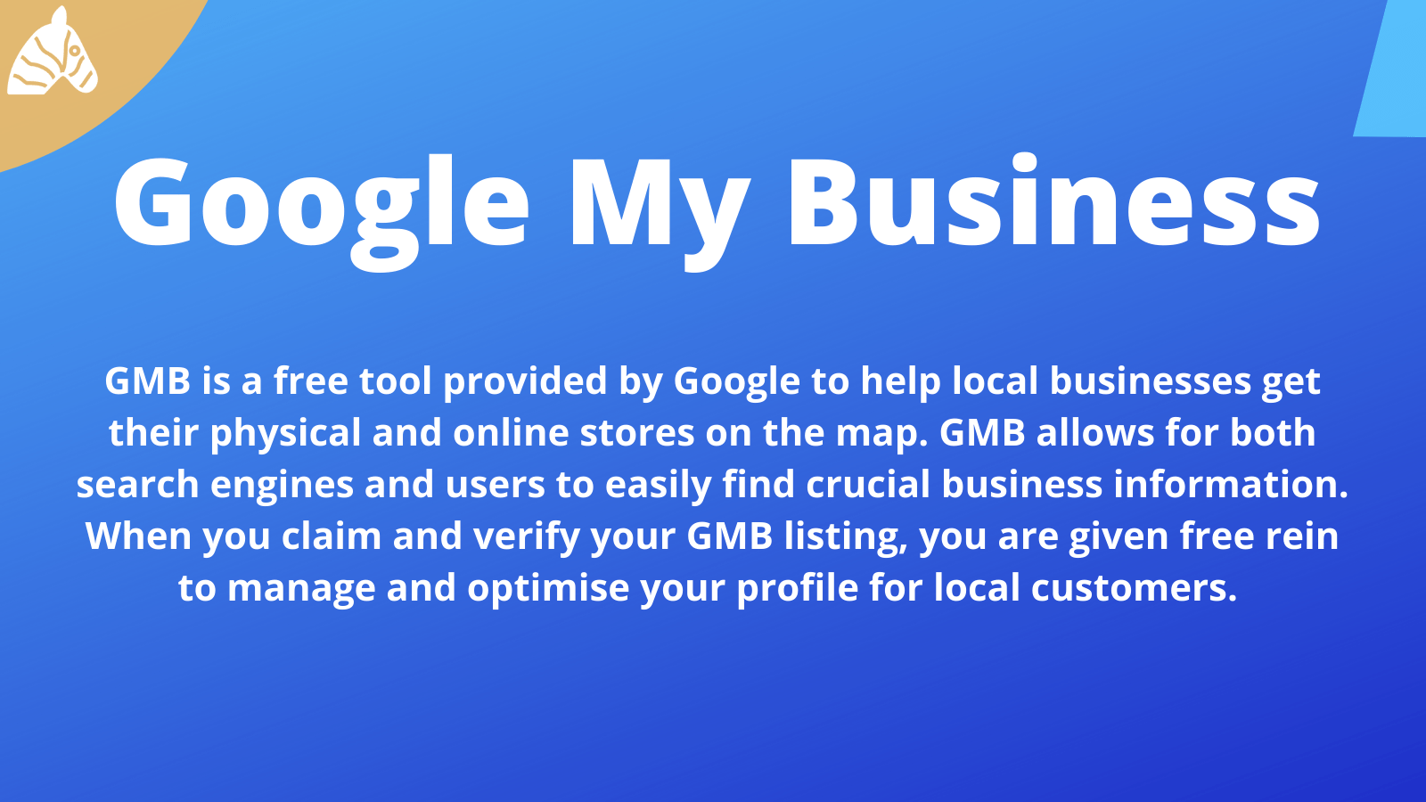 information about Google my business and how it impacts SEO