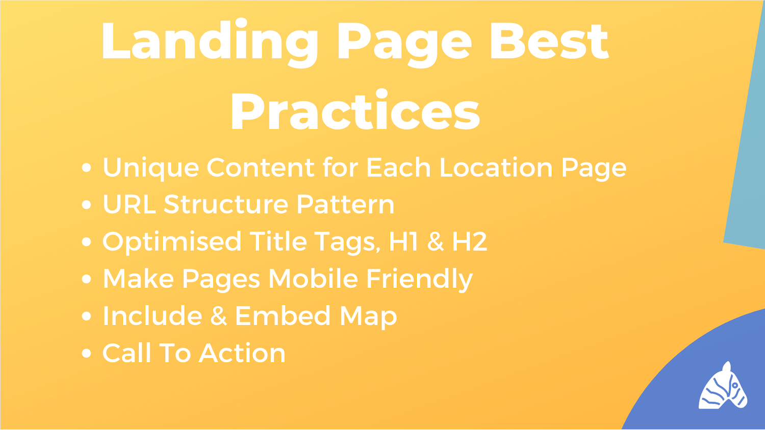 landing page SEO best practices