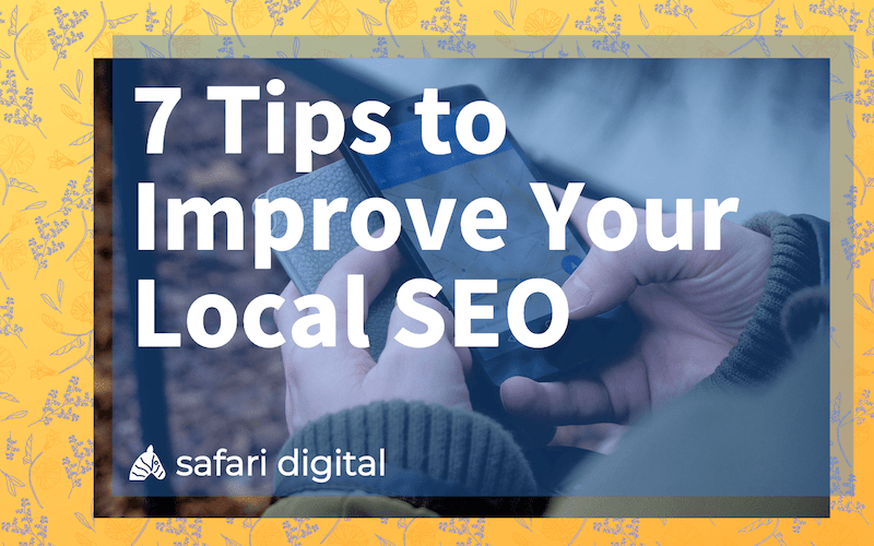 7 tips to improve local SEO small cover image