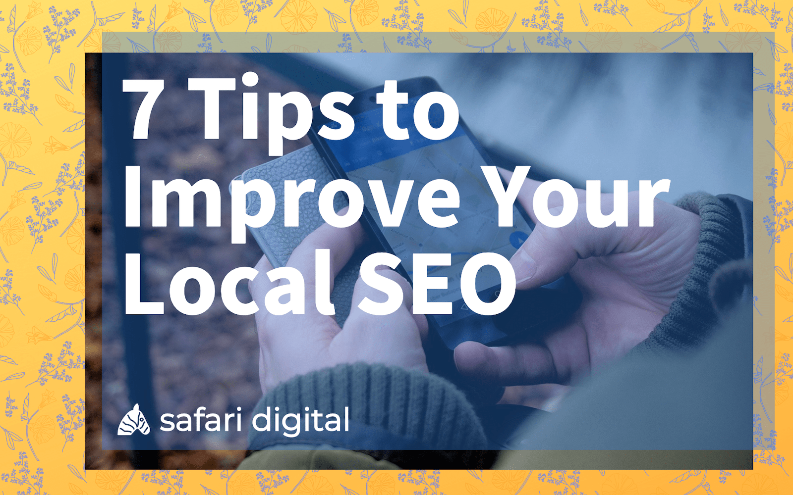 7 tips to improve local SEO large cover image