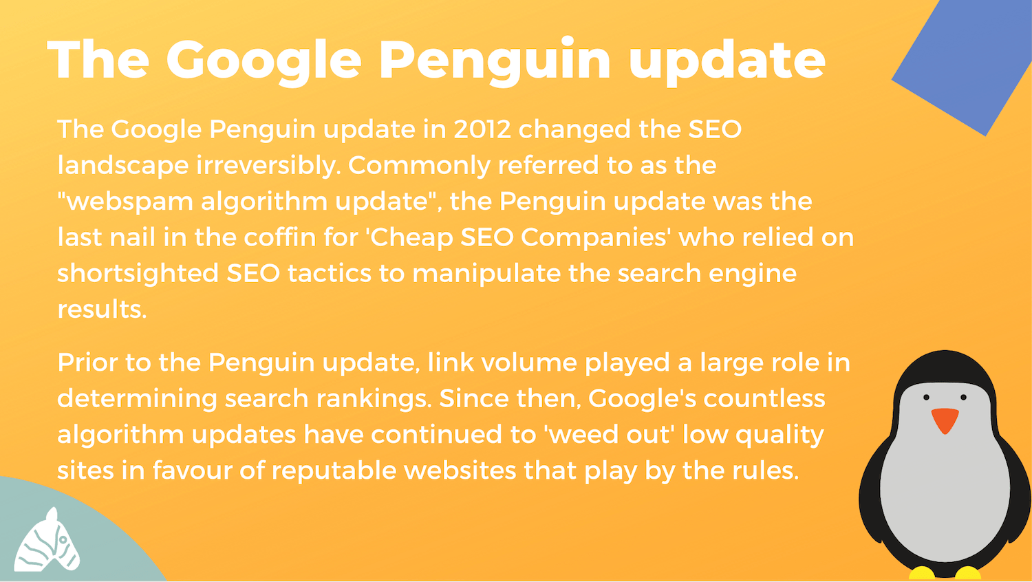 What the Google Penguin update means for websites