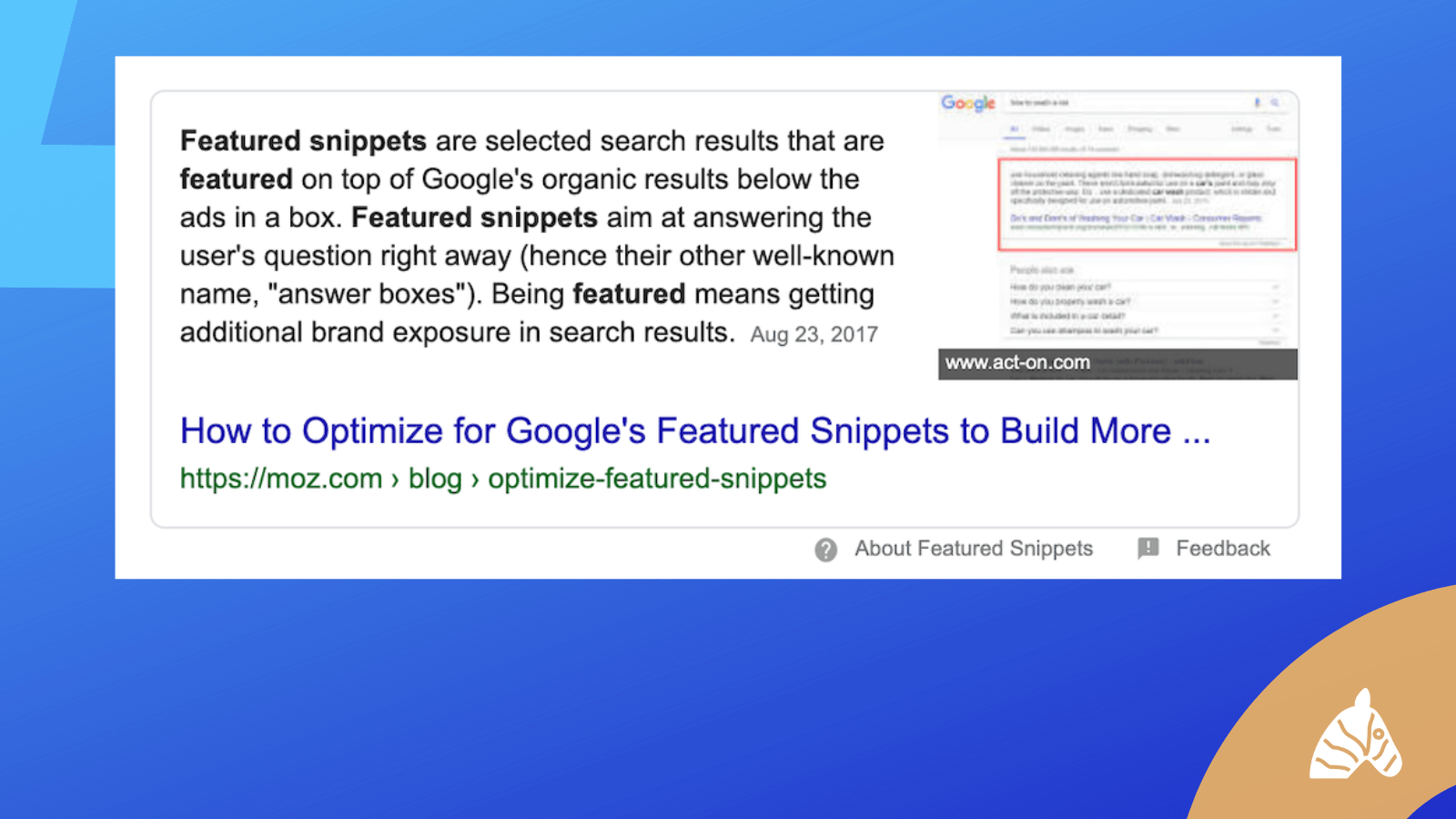 featured snippet update tweets - 2