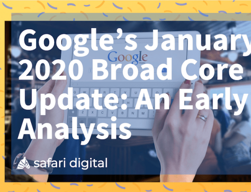 Google January 2020 Core Update – An Early Analysis