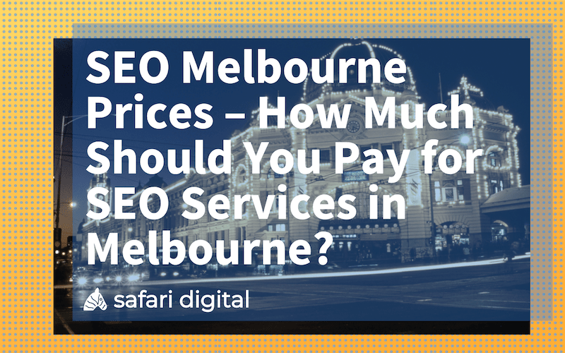 """How much should Melbourne SEO services cost"" cover image"