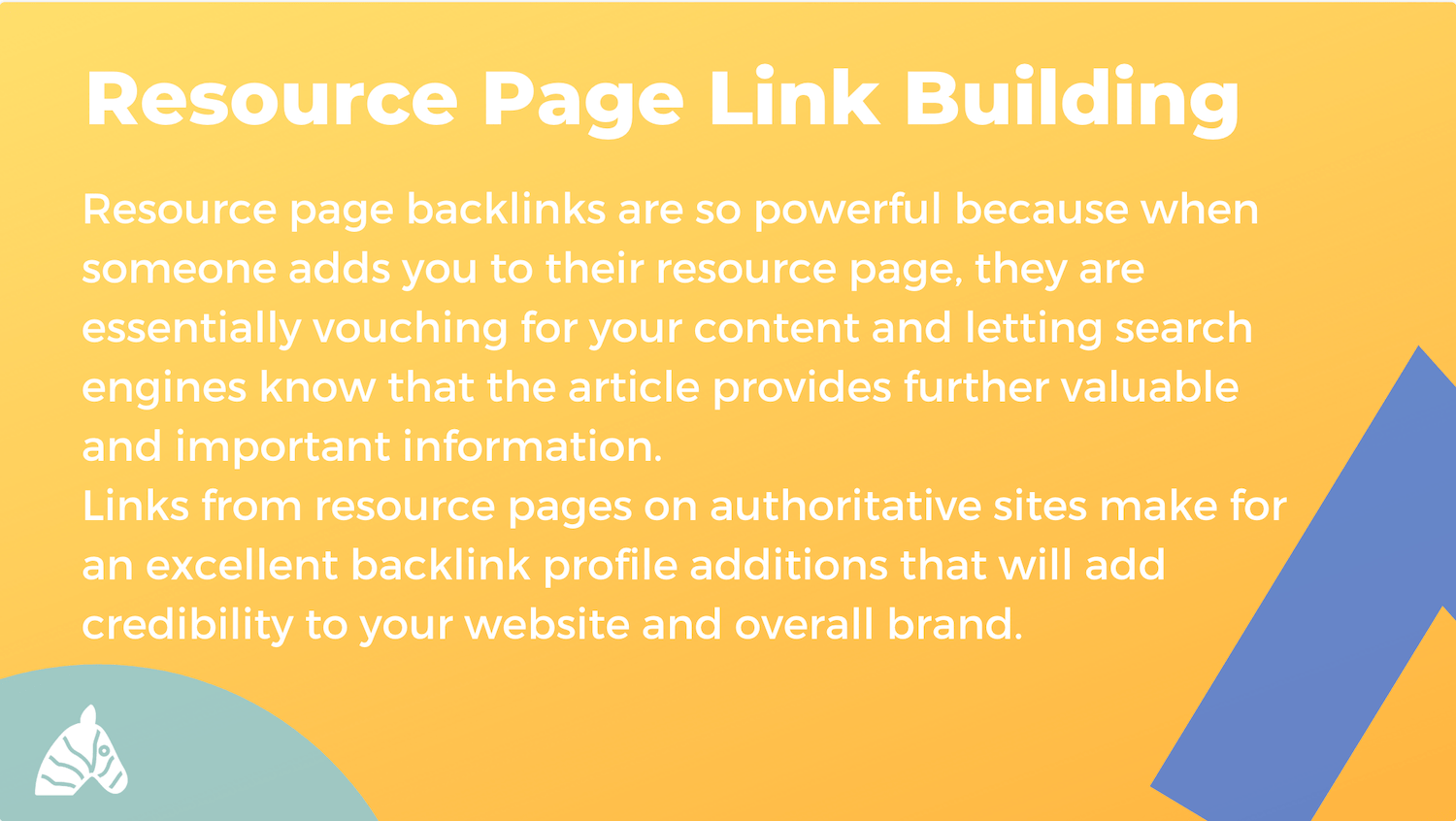 resource page link building image