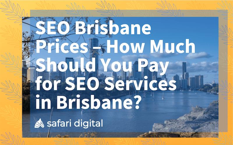 SEO Brisbane prices small cover image