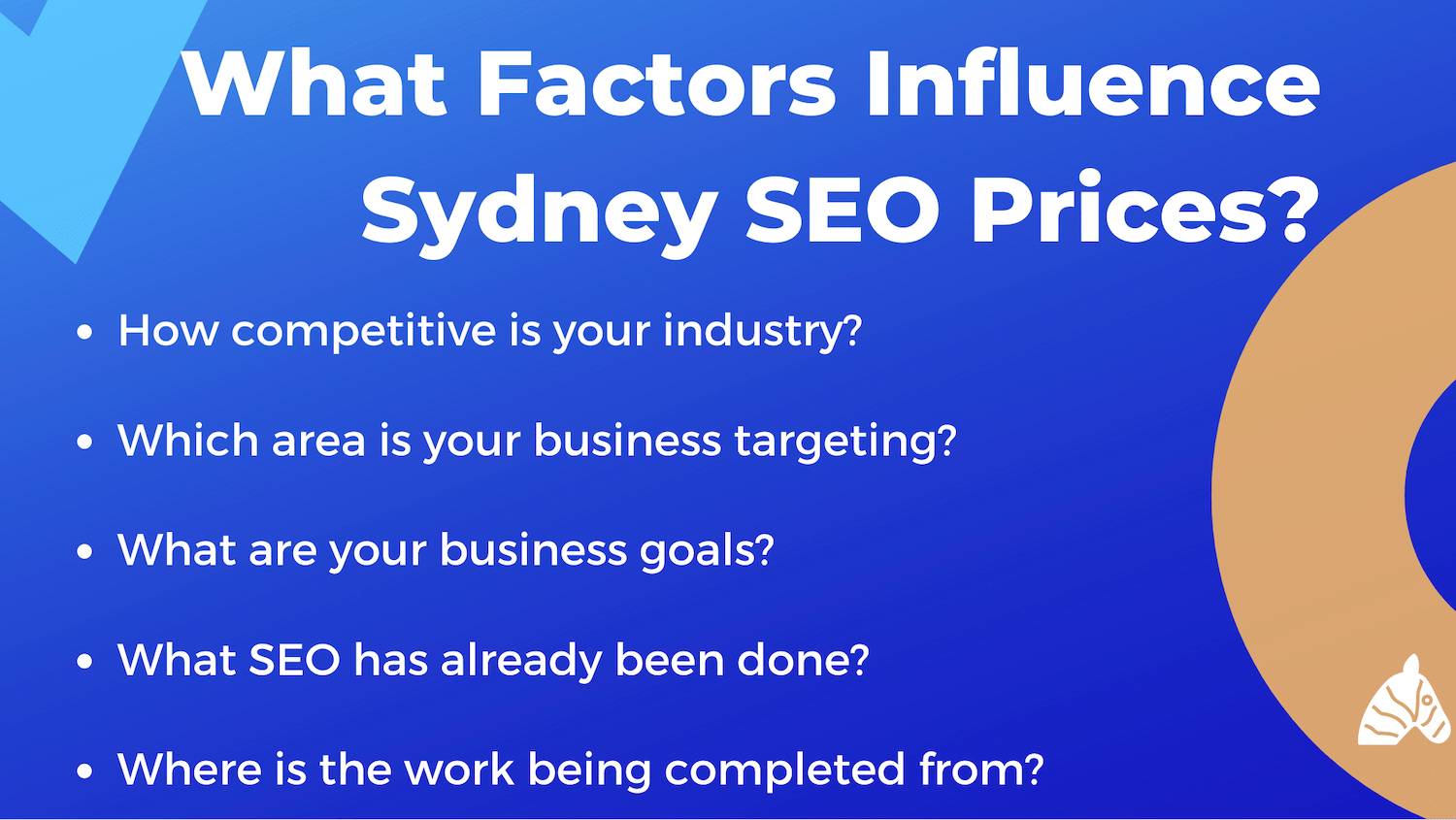 factors that influence the cost of SEO services