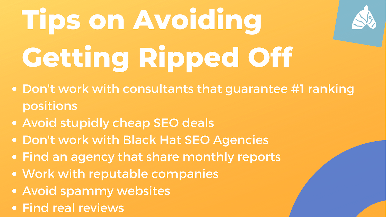how to avoid getting ripped off for SEO services