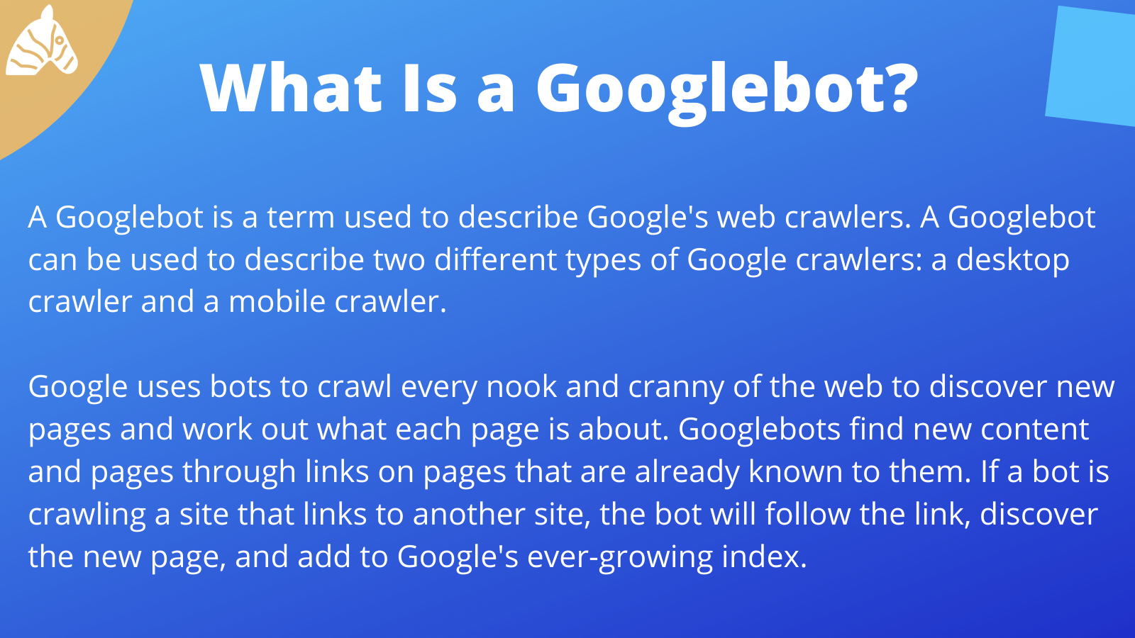 Information about Googlebot Web crawlers