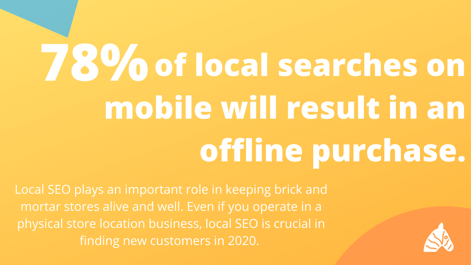 78% of local search on mobile will result in an offline purchase statistic