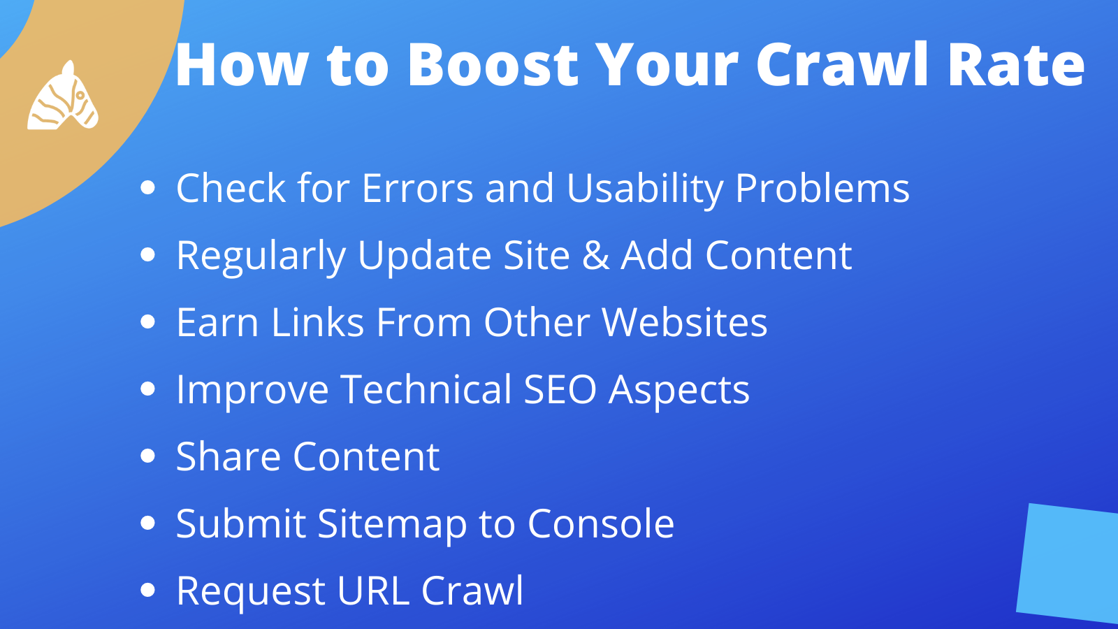 Tips on how to boost your site crawl rate