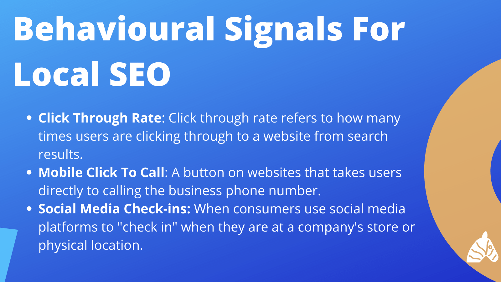 behavioural signals for local SEO