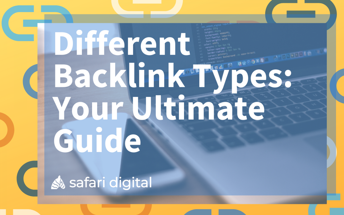 Different types of backlinks