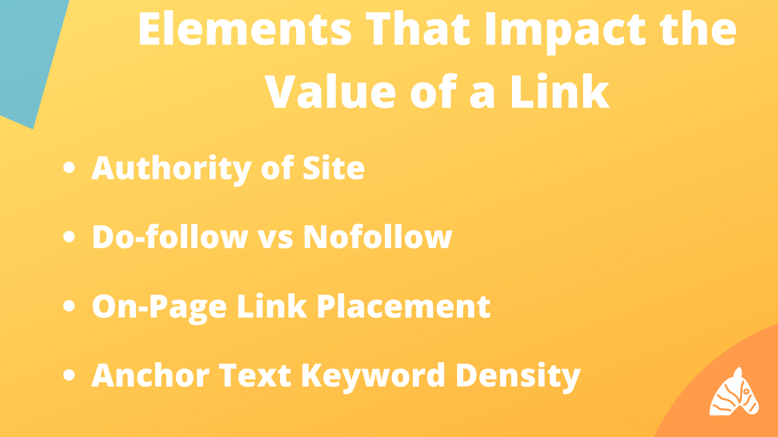 Elements that impact the value of a backlink