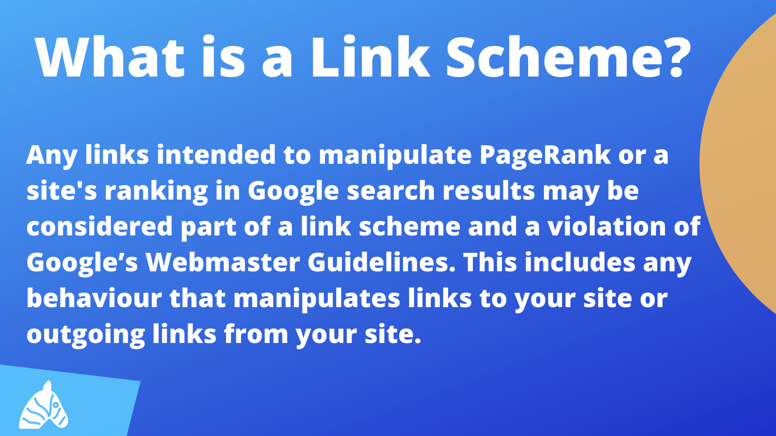 Link scheme information from google webmasters