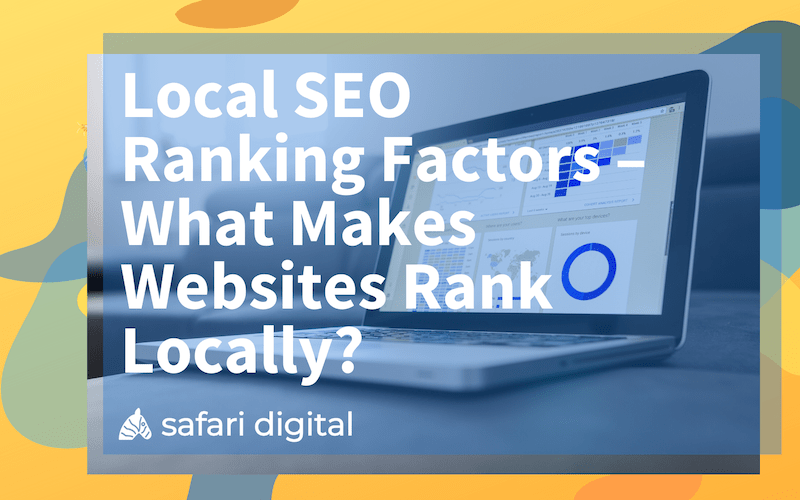 Local SEO ranking factors 2020 - featured image for article