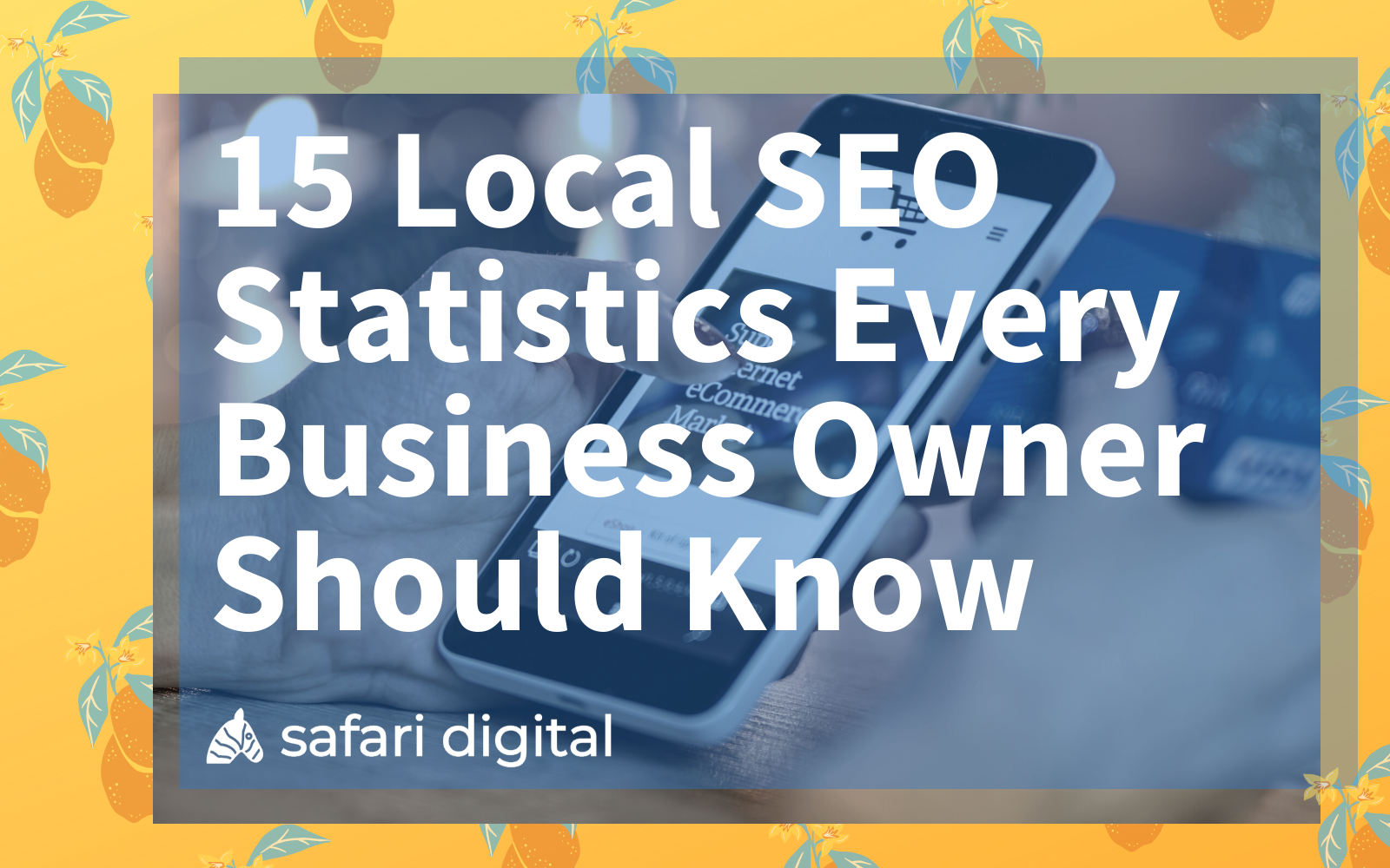 local SEO statistics cover image large