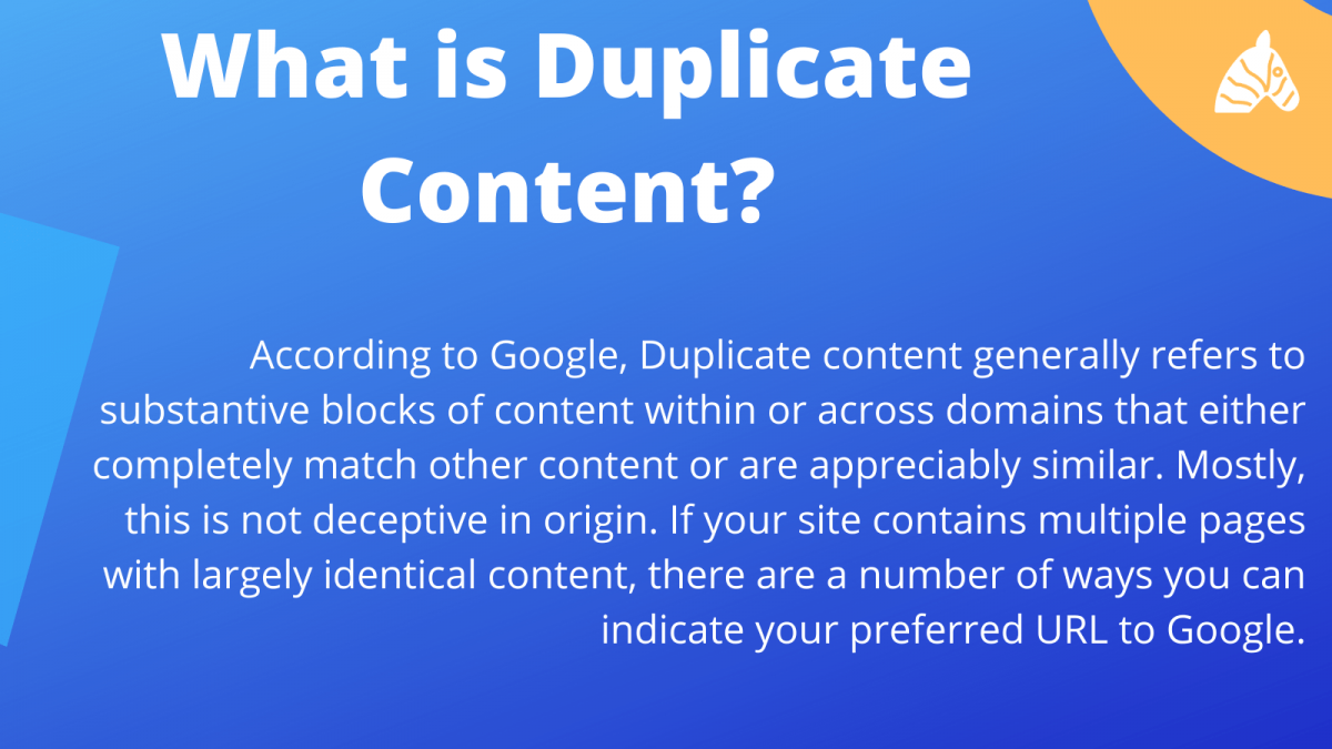 what is duplicate content seo - an insight into how google determines duplicate content