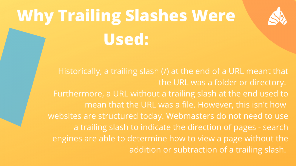 The history of trailing slashes and SEO