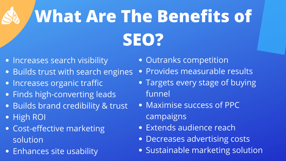 The benefits of SEO services