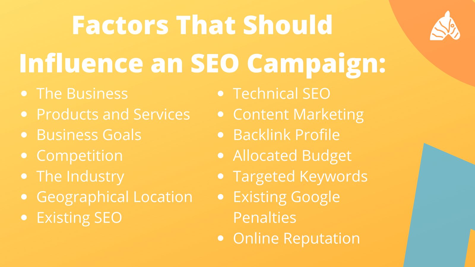 information on what should influence an SEO campaign