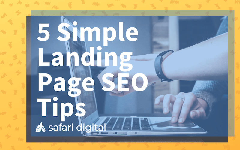 landing page seo tips - small cover image