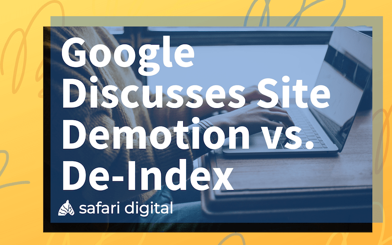 Demotion vs. De-Indexing cover image