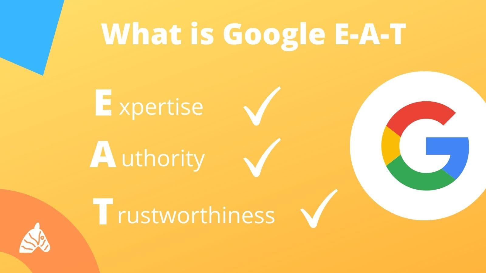 Google E-A-T acronym explained