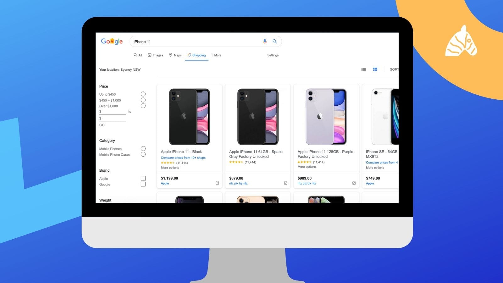 updated google shopping preview