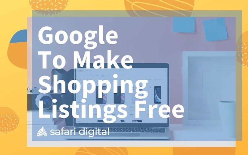 free google shopping listings cover image - small
