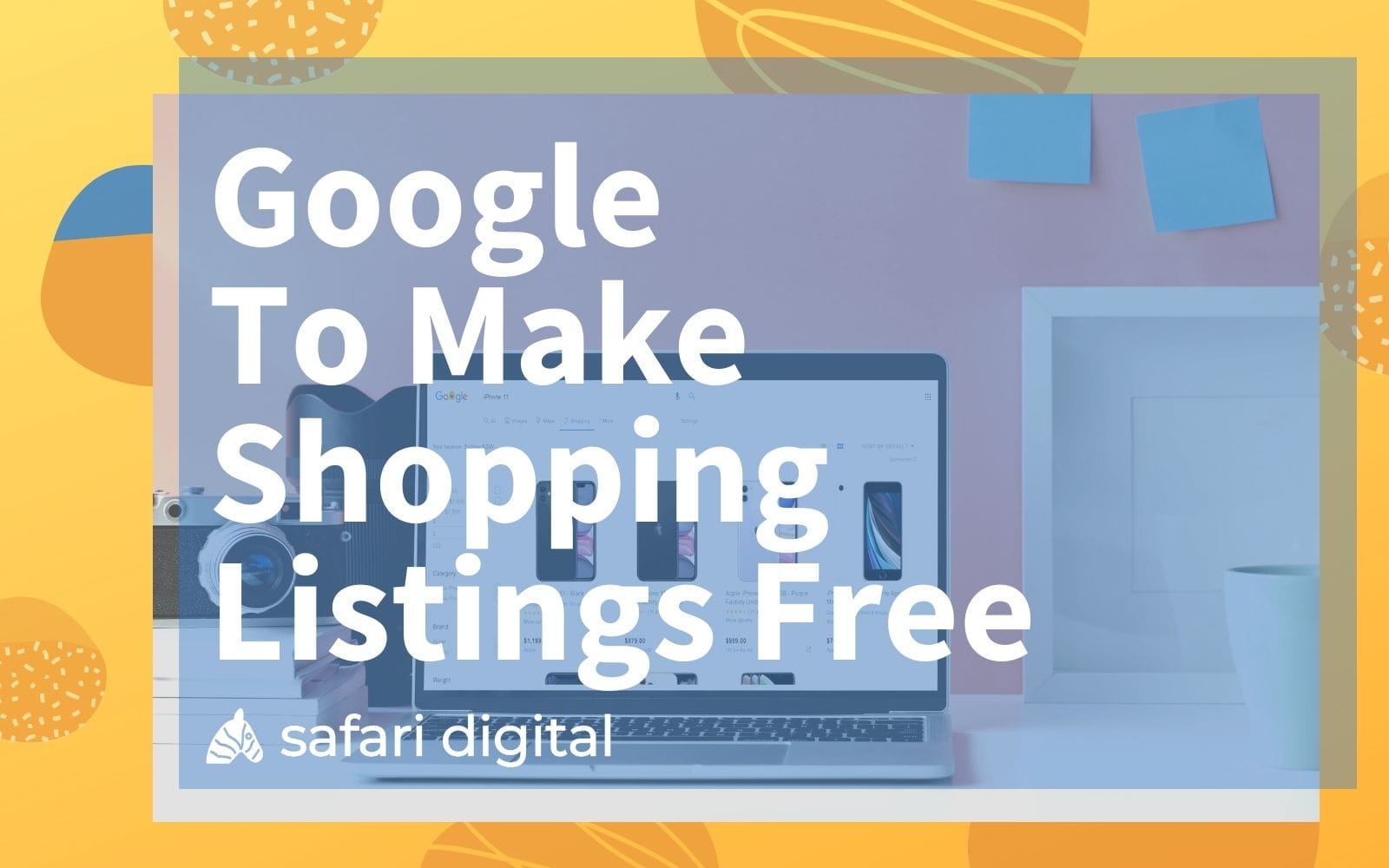 Free Google Shopping listings - cover image