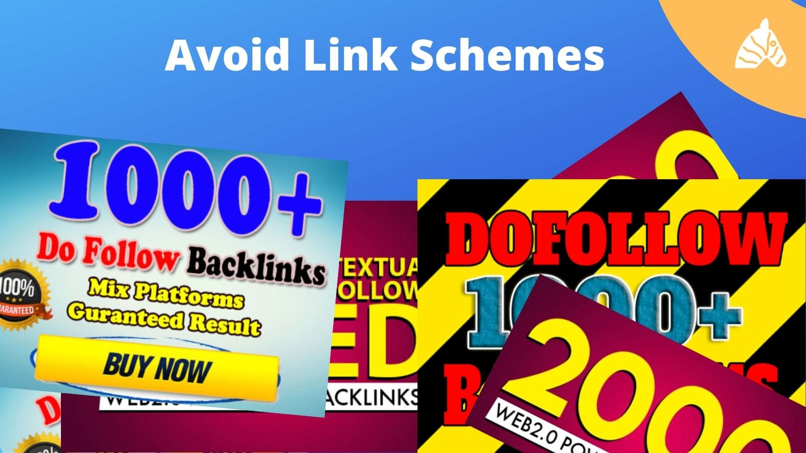 link building schemes that SEO scam companies participate in