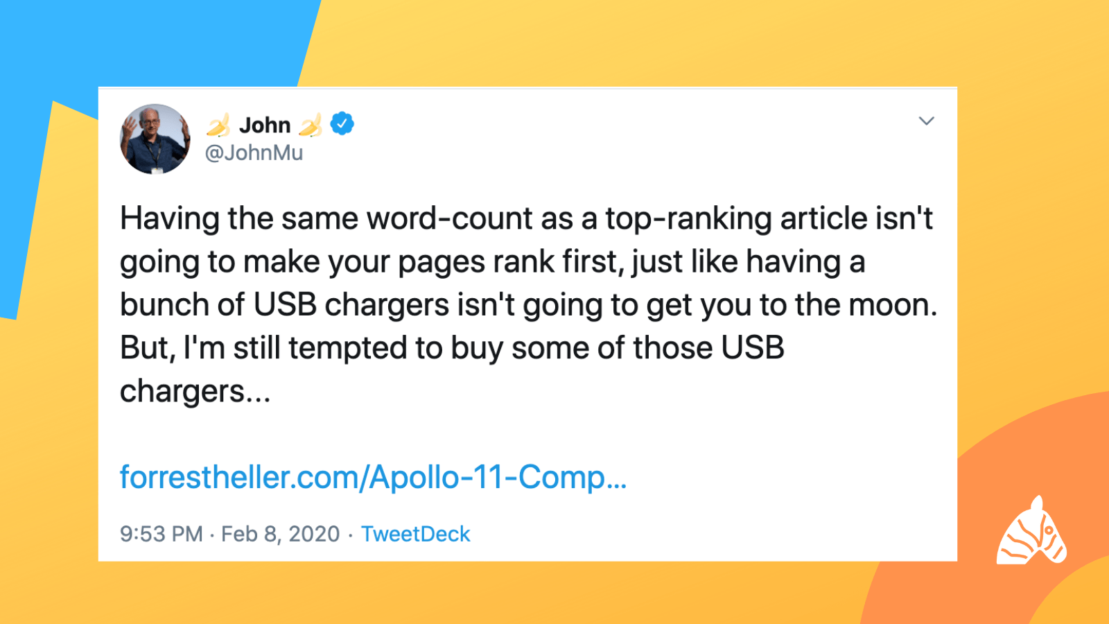 John Mueller discusses Word Count and SEO