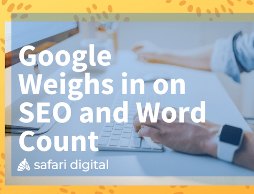 Google Weighs in on SEO and Word Count