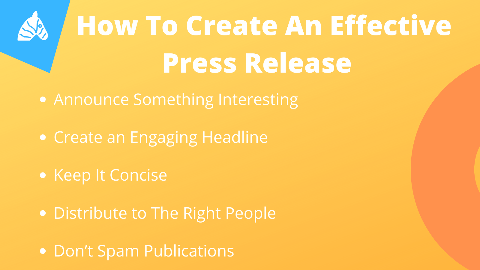 How to create an effective press release for SEO