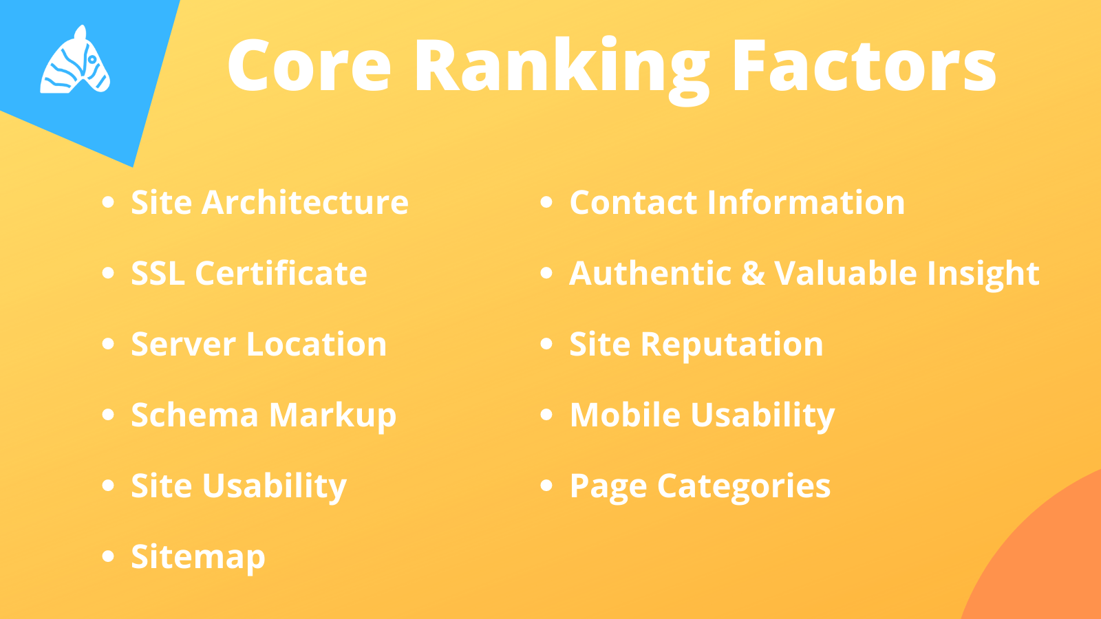 core ranking factors 2020
