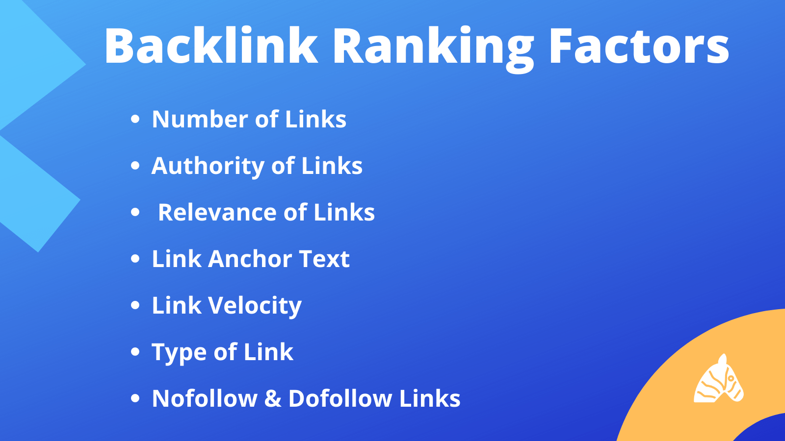 backlink ranking factors that contribute to website rankings in Google