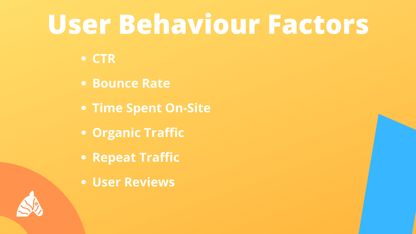 user behaviour factors in the search ranking algorithm