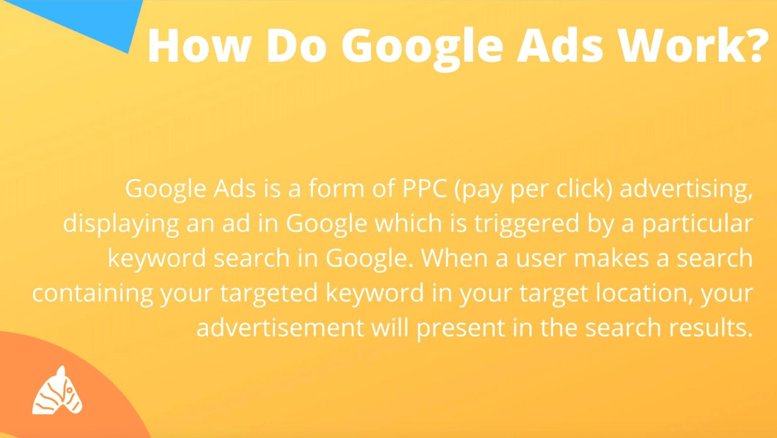 how google ads work
