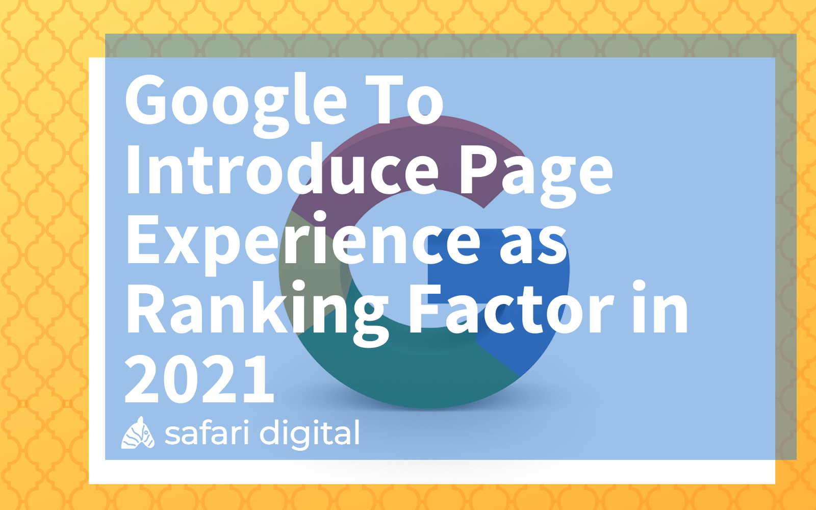 Google page experience update cover image