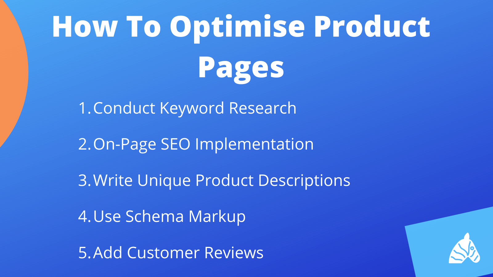 how to optimise your product pages for SEO