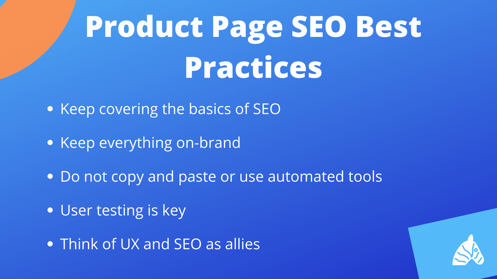 product page seo best practice