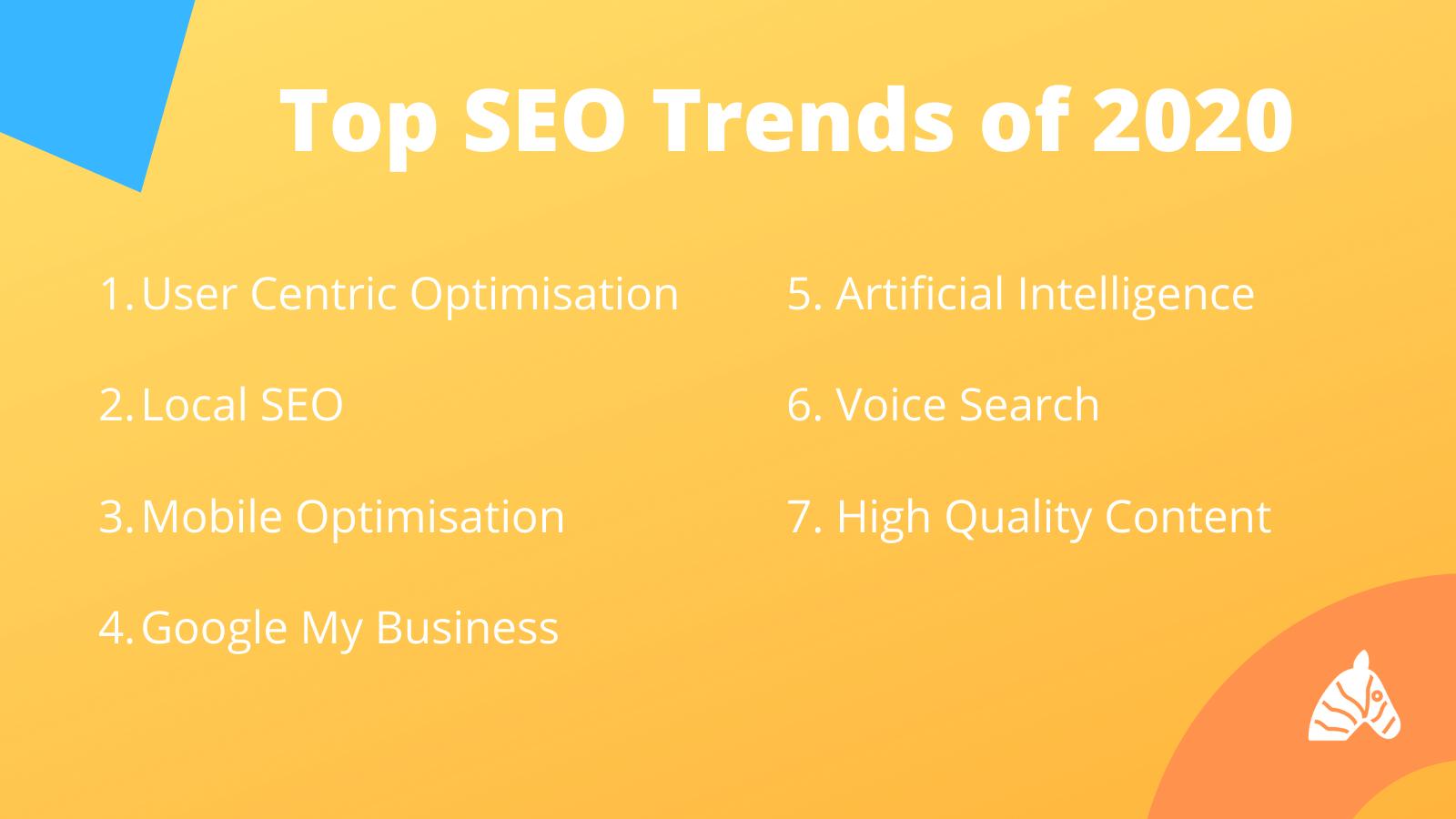 top seo trends in 2020