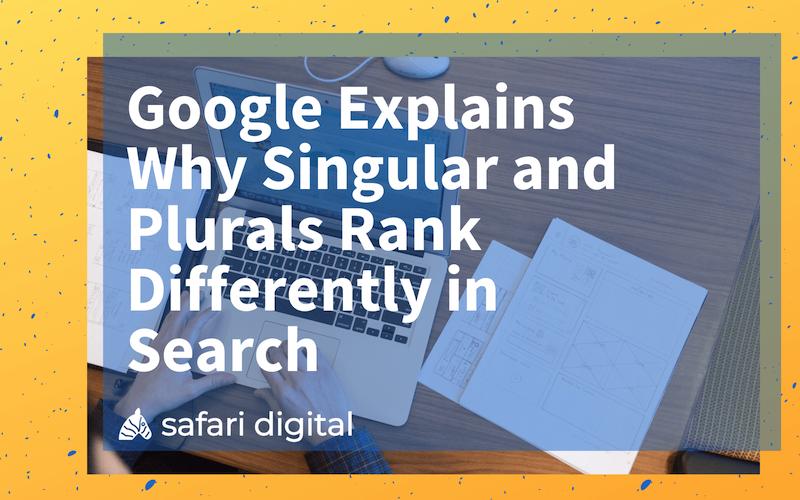 seo plural or singular keywords - small cover image